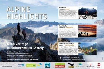 Alpine Highlights - München und  Oberland