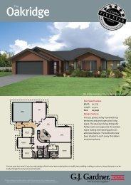 Oakridge - G.J. Gardner Homes