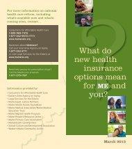 brochure - Maine Medical Association