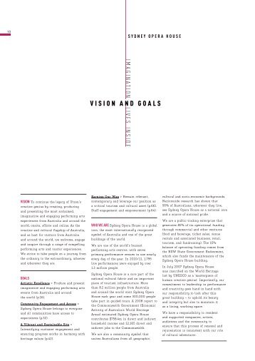 the vision and goals worksheet