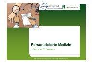 Personalisierte Medizin - Ärztekammer Berlin