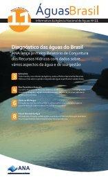 Diagnóstico das águas do Brasil - Ana