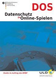 DOS – Datenschutz in Online-Spielen - Unabhängiges ...