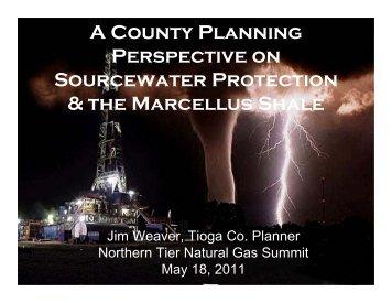 presentation for jim weaver and joan hart - Northern Tier Regional ...