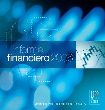 informe financiero 2006 - EPM