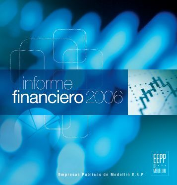 informe financiero 2006 - EPM