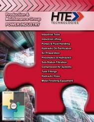Power Industry - HTE Technologies