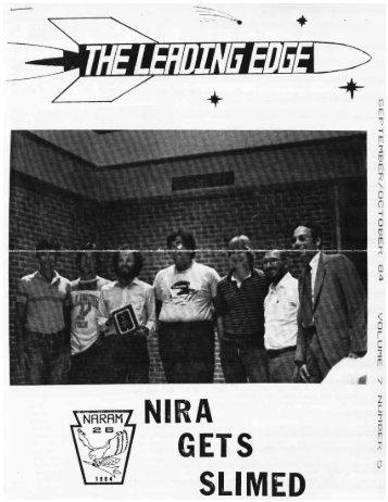 Issue #5 - NIRA