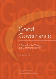 Good Governance Code - The Association of National Specialist ...