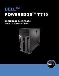 PowerEdge T710 Technical Guide - Dell