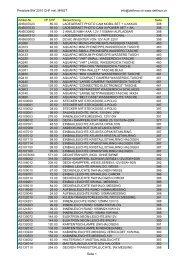 Preisliste BW 2010 CHF inkl. MWST info@delfinos.ch www.delfinos ...