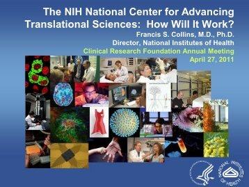 Collins NCATS slides.pdf - DTMI