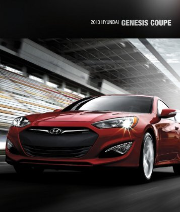2013 HYUNDAI GENESIS COUPE - Dealer