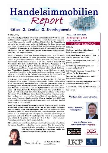 Handelsimmobilien - Der Immobilienbrief