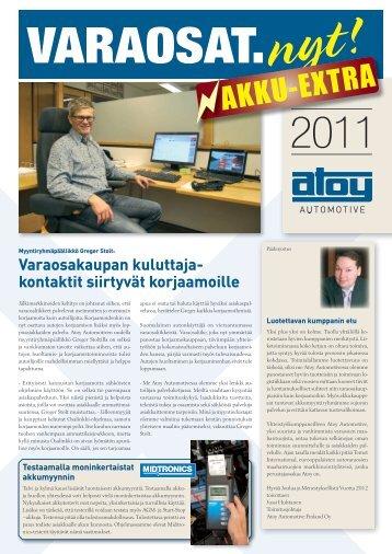 AKKU-EXTRA - Atoy Automotive Finland Oy