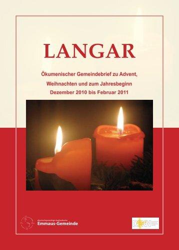 Ökum. Gemeindebrief (Nr.05, Nov. 2010 - Feb. 2011)
