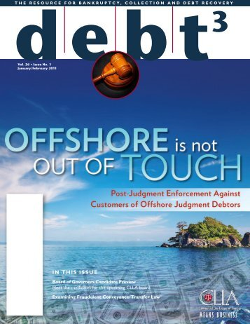 IN THIS ISSUE - Commercial Law League Of America