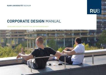 Ruhr-Universität Bochum, Corporate Design ... - Design Tagebuch