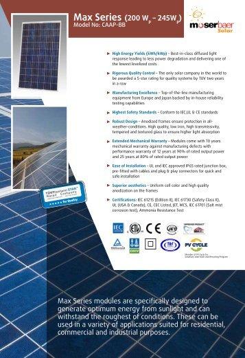 Download in PDF format - Moser Baer Solar Limited