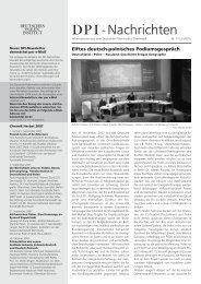 DPI-Nachrichten 2/2007 - Deutsches Polen Institut