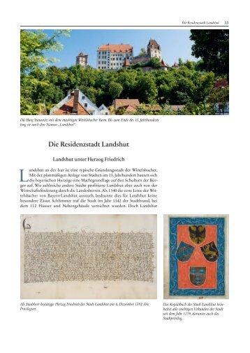 Die Residenzstadt Landshut - Haus der Bayerischen Geschichte