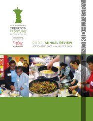 2008 ANNUAL REVIEW - Share Our Strength
