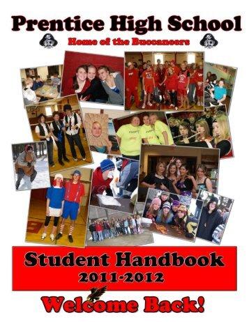 Prentice High School Handbook 2011-2012 - Prentice School District