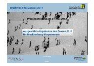 Präsentation - Statistisches Amt Mecklenburg-Vorpommern