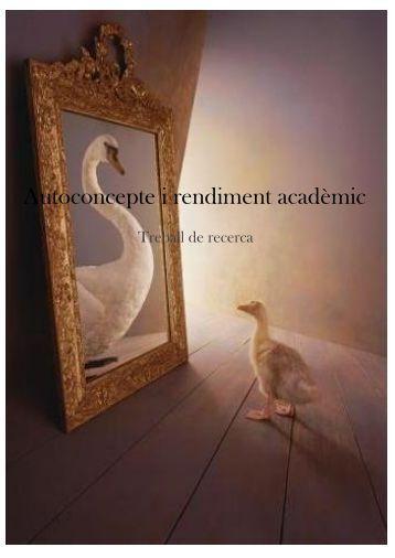 Autoconcepte i rendiment acadèmic - Premis Universitat de Vic als ...