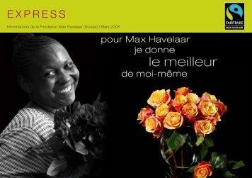expreSS expreSS - Max Havelaar Switzerland