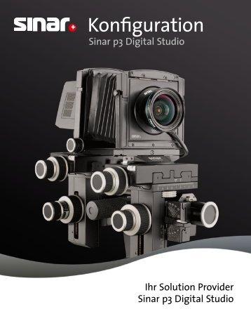 Konfiguration Sinar p3 Digital Studio PDF