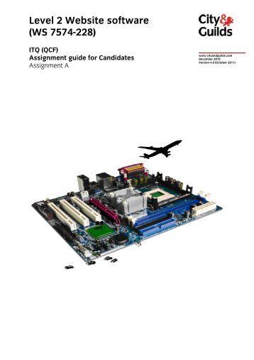 228 - A - Website software - City & Guilds
