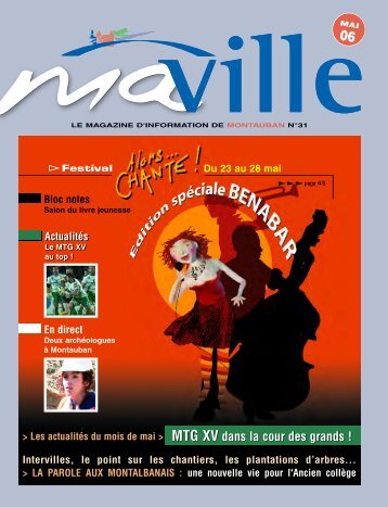 mavilleLE MAGAZINE D'INFORMATION DE MONT - Montauban.com