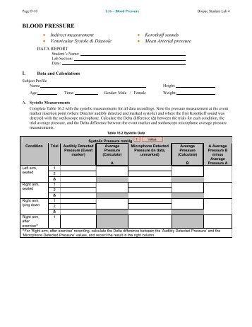 Lesson 16 Data Report - Biopac
