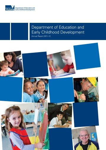 Cover and Contents (PDF - 296Kb) - Department of Education and ...