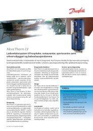 Akva Therm LV Ladevekslersystem - Danfoss Redan A/S