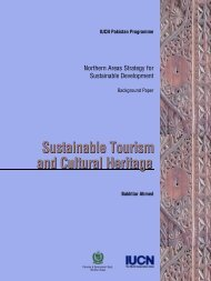 Sustainable To u r i s m and Cultural Heritage Sustainable ... - IUCN