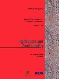 16-Agriculture &FS.pdf - IUCN - Pakistan