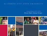 2011-2012 Annual Report - Elizabeth City State University