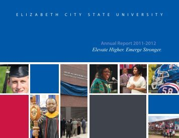 2011-2012 Annual Report - Elizabeth City State University