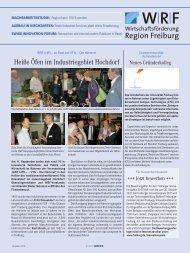 WRF_1012.pdf 6,36 MB - Wirtschaftsförderung Region Freiburg eV