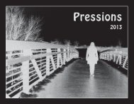 Pressions 2013 - Memorial High School