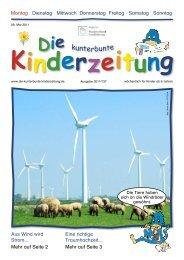 kunterbunte - Die kunterbunte Kinderzeitung