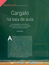 Gargalo - Revista Pesquisa FAPESP