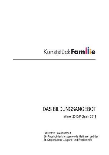 Programm Kunststueck Familie Q4 2010 Q1 2011 fV A 5 ohne ...