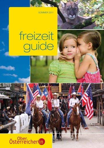 freizeit guide - Die Oberösterreicherin