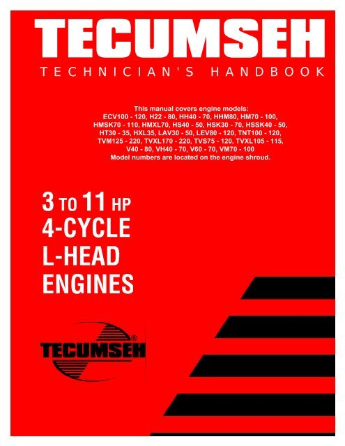 3to 11hp 4 Cycle L Head Engines Small Engine Suppliers