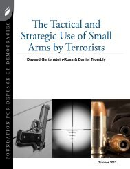The Tactical and Strategic Use of Small Arms by Terrorists