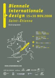 Version light - format PDF (108ko) - Biennale internationale design ...