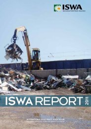 INTERNATIONAL SOLID WASTE ASSOCIATION - Denkstatt
